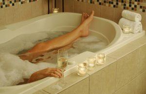 have a bath to get a good nights sleep