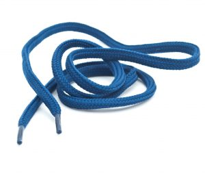 blue shoe laces what causes aging