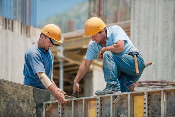 Two construction workers hearing loss